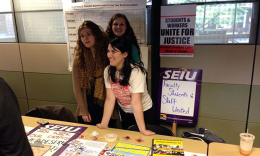 The Importance of Student Power for Campus Labor Unions